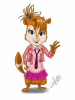 the chipettes-Brittany by artdan24