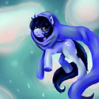 John Egbert Pony -Request- by RetroTrickster