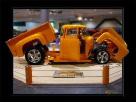 56 ford f100 show truck by Z-Vincent