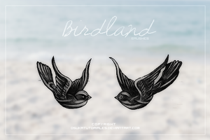 Birdland {brushes} by osukatutoriales