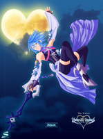 .: Kingdom Hearts - Aqua :. by Tsukineesan