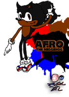 Afro The Hedgehog (splat) by CreativeArtist-Kenta