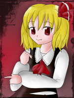.:Rumia:. by Marthnely-chan