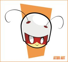 Heads Up Atom Ant by HeadsUpStudios