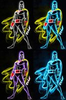 space ghost neon choices by AlanSchell