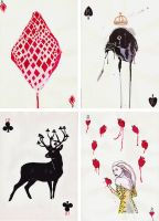 Playing cards by AnoukvanderMeer