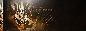 Hollow Ichigo signature by CLFF