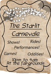 Starlit Carnevale Poster 1 by Mayli-Song