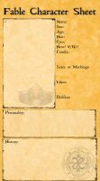 Fable Character Sheet by sweettartslover
