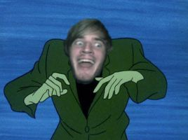 Creeper Face Pewdie by CheddaJack
