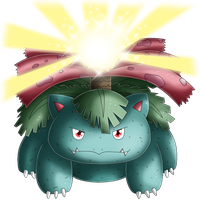 Pokedex 003: Venusaur- Solarbeam