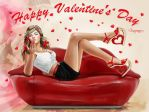 Happy Valentine's Day by Kajenna
