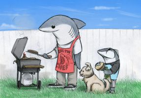 Lanny BBQ by RobtheDoodler