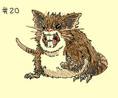 Raticate by eys123
