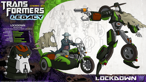 Transformers Legacy: Lockdown by CyRaptor