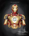 Iron Man MK-42 by ophanda