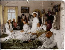 Angels among the wounded by VelkokneznaMaria