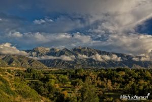 Across the Valley to the Wasatch by mjohanson