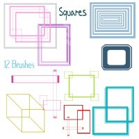 Squares Brushes by snathaid-mhor
