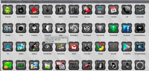 Smartphone Icon PNGS by drayh1985