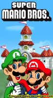 Super Mario Bros by Princesa-Daisy