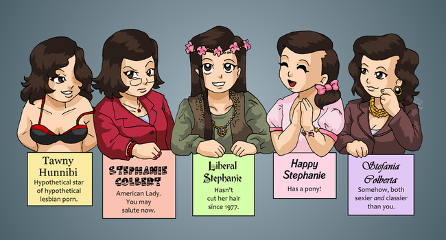 A Selection of Stephanies by ErinPtah