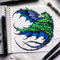 Instaart - Swooping Evil by Candra
