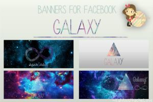 Banners/Portadas Para Facebook Galaxy by KaMousthacheLove