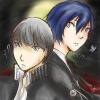P3_P4_Protagonist by IchiRuki22