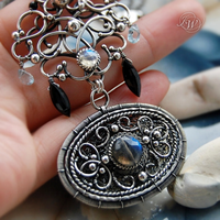 SCUDO - Necklace - talisman by JoannaWatracz