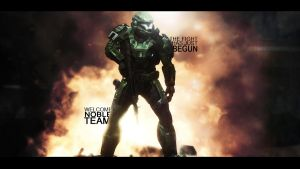 Welcome Noble Team Wallpaper by PhotoshopMiraj