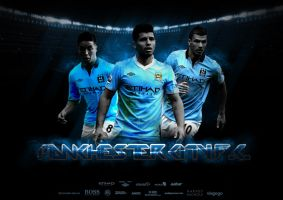 Manchester City F.C. Wallpaper by thomasdyke