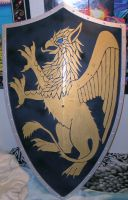 Gryphon Shield by Ryaskgoldengryph