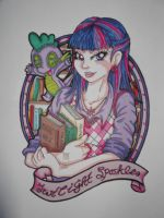 Humanoid Twilight sparkle by MultiColouredMonster