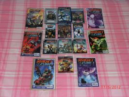 My Ratchet and Clank Collection ^^ by MadAme-DragoNess