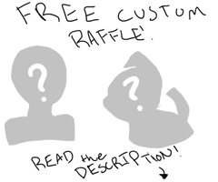 CLOSED RAFFLE by amuisawesome
