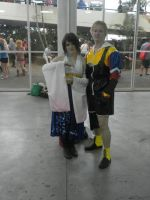 FFX Tidus and Yuna by vicky-vic