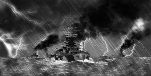 Richelieu in the Storm by Qsec