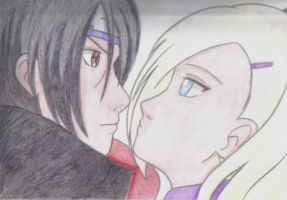 Itachi e Ino Shippudem by Stephanie2912
