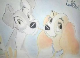 Lady and the tramp by lorena199916