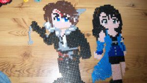 sqall and rinoa sprite by fontainekia