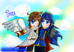 Pit + Lucina - Request by PiscesWeirdo
