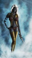 Female Drow by Araiel
