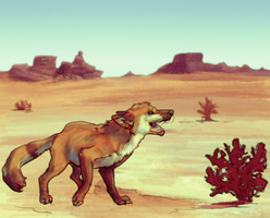 Desert Stride by Pagerda