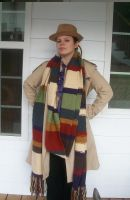 Dr. Who Scarf Cosplay by Branxnia