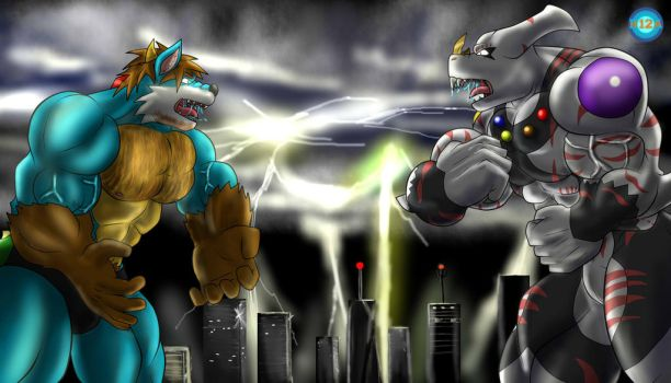 Unleashed storm by Rikuoxas