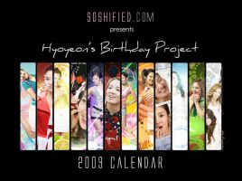 2009 Calendar for Hyo's Bday by soshified