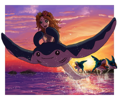 ID - The One with the Majestic Fish Thing by Krisantyne