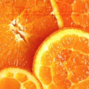 orange oranges by JustynaStolyhwo
