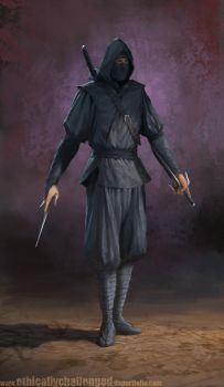 Ninja Concept by EthicallyChallenged